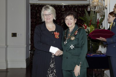 Image of Dame Patsy and Penny Mudford