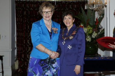 Image of Dame Patsy and Melissa Jebson