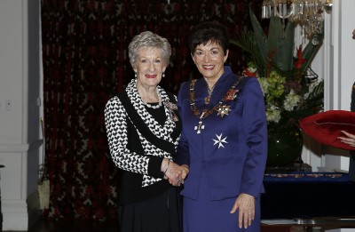 Image of Dame Patsy and Lorraine Logan