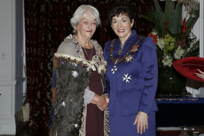 Image of Dame Patsy and Thelma Luxton
