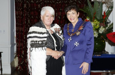 Image of dame Patsy and Teresea Olsen