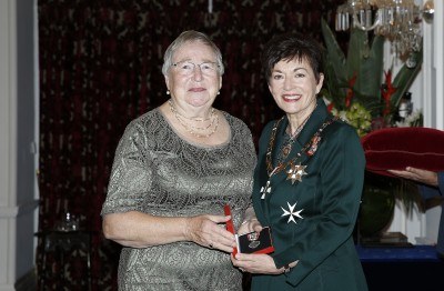 Image of Dame Patsy Reddy and Shirley Graham