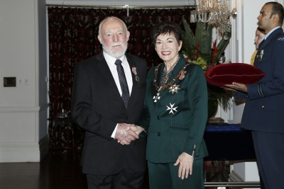 Image of Dame Patsy Reddy and Dan Lyders