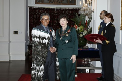 an image of Mr Denis Hartley, of Ohope Beach, MNZM for services to aviation and rescue services