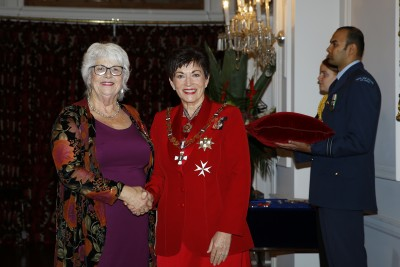 an image of Ms Nita Knight, of Nelson, MNZM for services to business and the community