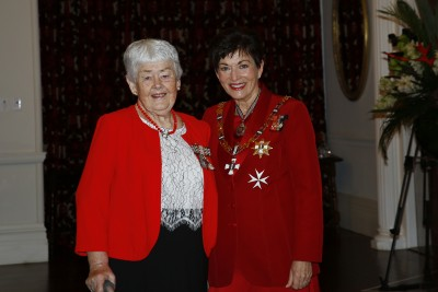 an image of Mrs Shona Andrell, of Christchurch, QSM for services to the stroke community