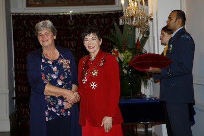 an image of Mrs Diane Nutsford, of Timaru, QSM for services to people with Alzheimers and dementia