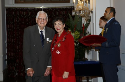 an image of Mr Randal Heke, of Waikenae, The New Zealand Antarctic Medal for services to New Zealand interests in Antarctica and historical preservation