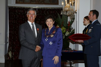 an image of Mr Bill Speedy, of Auckland, ONZM for services to philanthropy and watersports