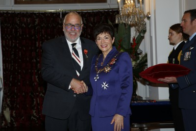 an image of Mr Pic Picot, of Nelson, ONZM for services to business