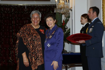 an image of Mrs Pania Tyson-Nathan, of Porirua, MNZM for services to Maori and business
