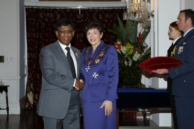 an image of Mr Channa Ranasinghe, of Wellington, QSM for services to the Sri Lankan community