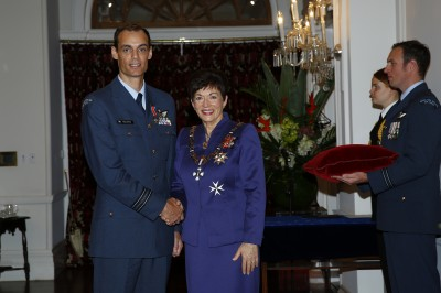 an image of Squadron Leader Rhys Evans, DSD for services to the New Zealand Defence Force