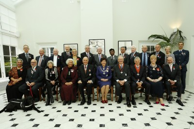an image of Their Excellencies with the 16 May 2018 AM recipients