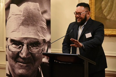 Image of facilitator Koro Vaka'uta from Radio New Zealand
