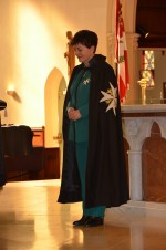 an image of Dame Patsy in St John regalia