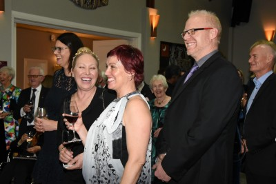 an image of Guests at the reception for Home and Family Counselling staff and supporters