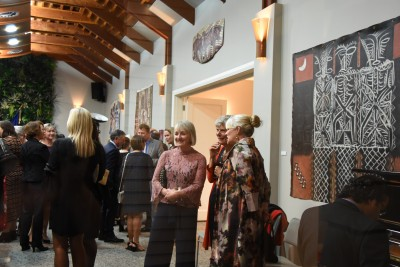 an image of Guests in the Pavilion at Government House