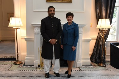 Image of the High Commissioner of the Islamic Republic of Pakistan, HE Dr Abdul Malik