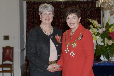 Image of Ethelwyn Lloyd, of Waikanae, MNZM, for services to administrative professional development