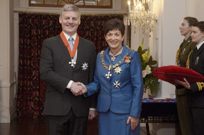 Image of Sir William English and Dame Patsy Reddy