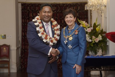 Image of Saimoni Lealea, of Wellington, Honorary MNZM, for services to Pacific communities