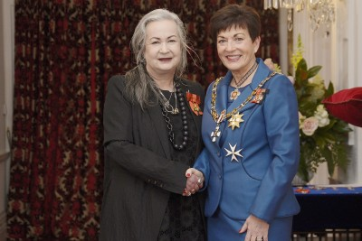 Image of Margarita Robertson, of Dunedin, ONZM, for services to the fashion industry