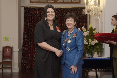 Image of Ainsley Gardiner, of Whakatane, MNZM, for services to film and television