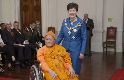 Image of The Venerable Suthep Surapong, of Wellington, MNZM, for services to the Cambodian community
