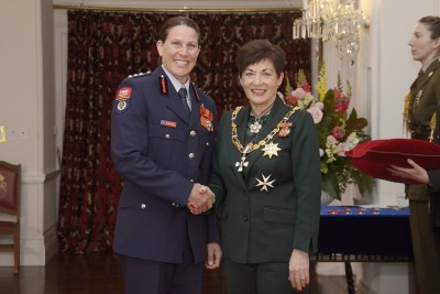 Image of Rochelle Martin, of Red Beach, MNZM, for services to rugby and Fire and Emergency New Zealand