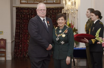Image of  Keith Nixon, of Lower Hutt, MNZM, for services to Fire and Emergency New Zealand