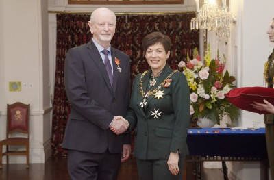 Image of  Bill O'Brien, of Dunedin, MNZM, for services to victim support and the prevention of domestic violence
