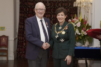 Image of Kenneth Donald, of New Plymouth, QSM, for services to marine search and rescue and the community