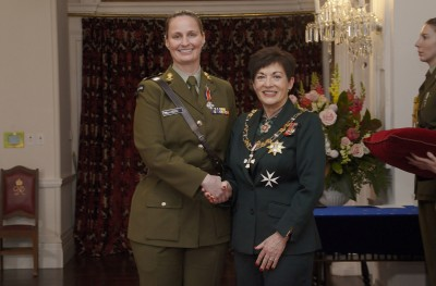 Image of Captain Gabrielle Gofton, DSD, for services to the New Zealand Defence Force
