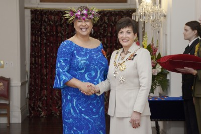 Image of  Caren Rangi, of Napier, ONZM, for services to the Pacific community and governance