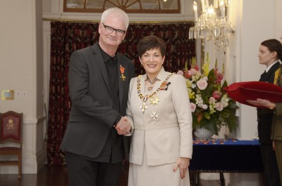Image of  Roger Shepherd, of Wellington, ONZM, for services to the music industry