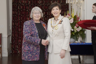 Image of  Dr Judith Davey, of Wellington, MNZM, for services to seniors