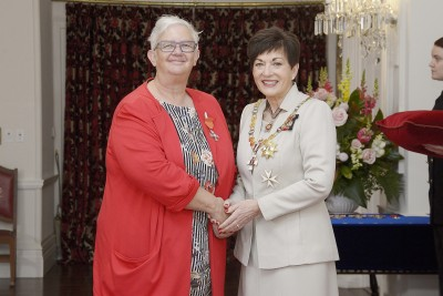 Image of  Dr Katherine Saville-Smith, of Marlborough, MNZM, for services to seniors and housing