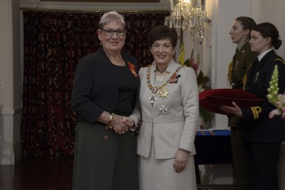 an image of Ms Marie Baker, of Whanganui, ONZM for services to lifesaving and swimming