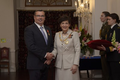 an image of Professor Robert Love, of Robina, Australia, ONZM for services to dentistry
