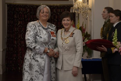 an image of Dr Sharon Gemmell, of Blenheim, for services to Maori and education