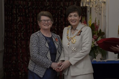 an image of The Very Reverend Pamela Tankersley, of Palmerston North, MNZM for services to the Presbyterian Church and the community