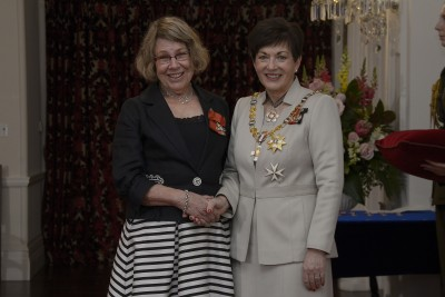 an image of Mrs Julie Wylie, of Christchurch, MNZM for services to musical play therapy