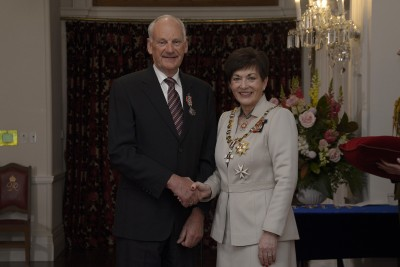 an image of Mr Paul Dewsbery, of Timaru, QSM for services to the community