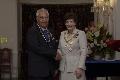 an image of Mr Filipo Lui, of Lower Hutt, QSM for services to the Tokelauan Community