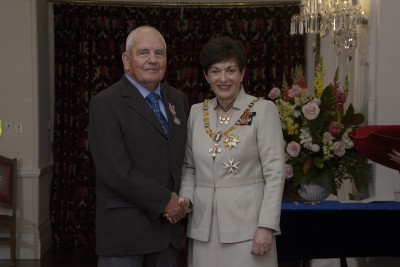 an image of Mr Ronald Nind, of Queenstown, QSM for services to the community
