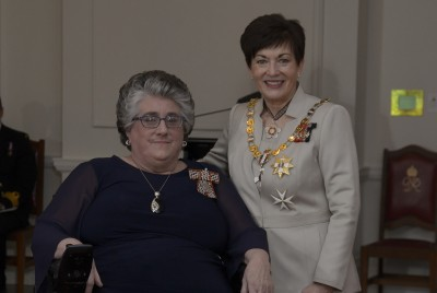 an image of Mrs Barbara Timms, of Levin, QSM for services to the community