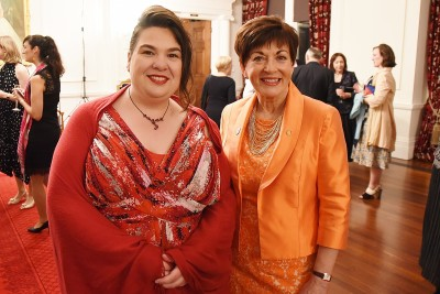 Image of Dame Patsy and guest speaker Rheanna Taylor Robertson