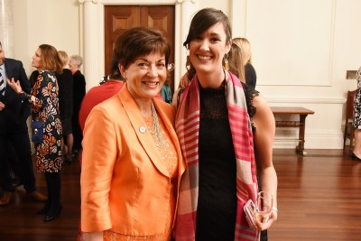 Image of Dame Patsy and guest