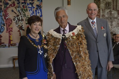 an image of Matutaera Clendon, of Auckland, ONZM for services to Maori